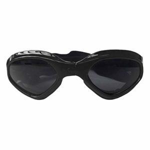 Handfly Lunettes de Chien, Petit Chien Moyen Lunettes de Soleil étanche Coupe-Vent Protection UV pour Chien Chiot Chat