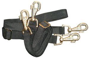 Harry's Horse 32209004–05Courroie de Queue, élastique, Noir