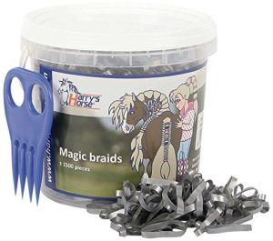 Harry's Horse 36000203-20 Seau Magic Braids Argenté