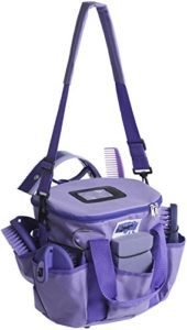Hippo Tonic – Sac de Rangement pour Accessoires de toilettage 700196 Pro 3, Mixte, 700196, Violet, 28 x 18 x 23 cm