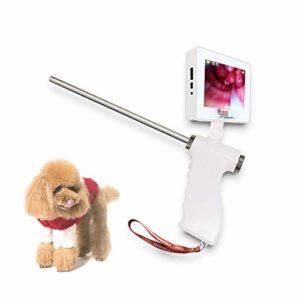 HJJH Dog Insémination Artificielle Appareil Insémination Artificielle Fécondation Éjaculateur Continue Injection Seringue Pistolet avec Rotation De L'écran, 500W De Pixels Affichage