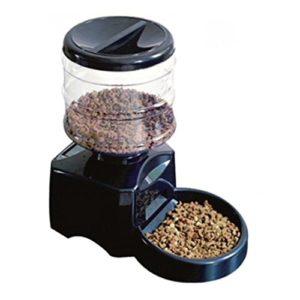 Homgrace 5.0L Distributeur automatique de nourriture pour animaux de compagnie avec rappel vocal et programmateur. 3 repas pour chien (moyen, petit), chats et animaux domestiques