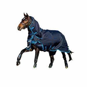 Horseware Amigo Bravo 12 Plus Bundle Couverture + 100 et 300 g avec Disque Semi-Rigide 140 cm
