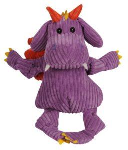Hugglehounds Puff le dragon Knottie Squeak jouet pour chien