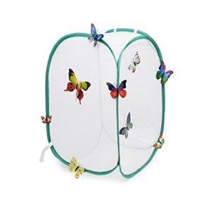 Hyindoor Insectes et Papillon Cage Mesh Habitat Terrarium Pop-up Jeux d'Exploration