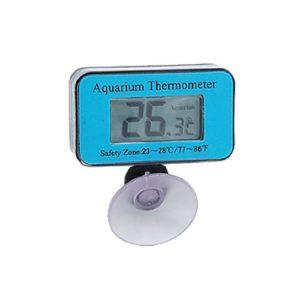 Jardin Pamplemousse Thermomètre Digital étanche LCD Bleu pour Aquarium