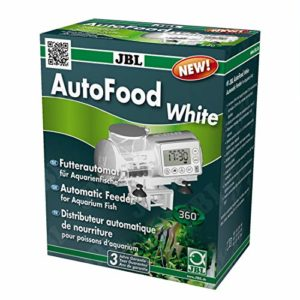 JBL AutoFood WHITE – Distributeur automatique de nourriture blanc pour poissons d'aquarium