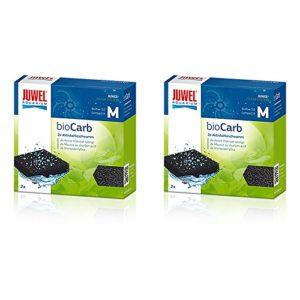 Juwel 2packs de 2plaquettes de filtre carbone en éponge (Écoulement d'air 3.0)