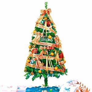 LEZDPP 6FT / 1.8 M Artificielle de Noël Arbre de Noël Arbre de l'emballage de Encrypted Décorations de Noël Grand Arbre de Noël (Size : 210cm)