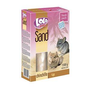 Lolo-Pets Sable pour Chinchilla, Lot de 2(2x 1,5kg)