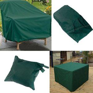 mark8shop 280x 206x 108cm pour ensemble de meubles d'extérieur étanche Table Abri