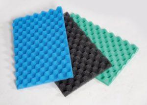 Mousse pour filtre de bassin Épaisse, Moyenne et Fine Petites 43 x 28 cm