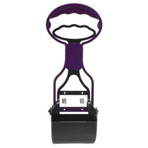 nobrand Pet Care IBHT Longue poignée Jaw Scoop Clean Merde Pick Up déchets Animaux Chien Chiot Chat chiffonniers (Violet) 1 (Color : Purple)