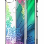 Oihxse Transparent Coque pour Xiaomi Redmi Y3 Souple TPU Silicone Protection Etui Air Cushion [Shock-Absorption] [Anti-Rayures] Fleurs Motif Housse Bumper (B7)