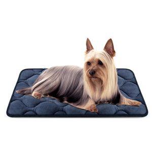 Panier Doux pour Chien, Lit Coussin de Luxe et Durable 70×50 cm, Tapis Antidérapant et Lavable de Chien Hero Dog (Gris, Petite)