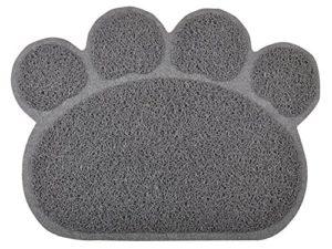 paw-shaped Tapis de litière pour chat Plateau, disponible en 8couleurs, 40x 29,8cm