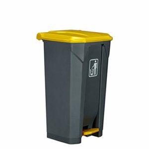 Poubelle Il Y A Des Bacs De Recyclage À Grande Échelle Bin Poubelles Gai Gris Pied 100 Litres Cuisine Extérieure For Les Bureaux De La Rue Poubelle De Salle De Bain ( Color : 2pcs , Size : 100L )