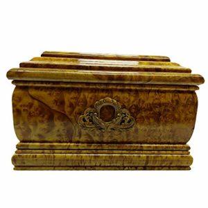 QNMM Cercueil Funéraire Biodégradable en Bois Massif Funéraire, Cercueil Pacifique Souvenir Animalier Sculpté À La Main, Cercueil