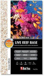 Red Sea Ocean White Sable d'Aragonite Vivant pour Aquarium, 10 kg