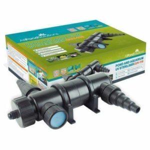 Stérilisateur / Décanteur à eau pour étang aquarium UV 18W CUV-118