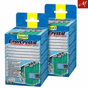 Tetra Lot de 2 x EasyCrystal Filter Pack C250/300 avec Charbon Actif, Lot de 3