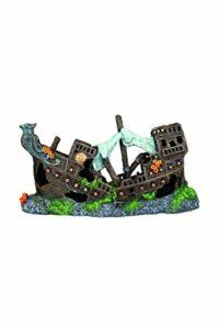 Trixie Polyester en résine pour Aquarium Épave Decoration-Parent