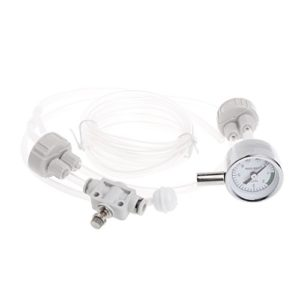 WE-WHLL Aquarium DIY Kit de système de générateur de CO2 avec Outil de Mesure de Pression pour Plantes d'eau D201