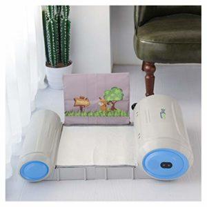 XLOO Toilette de Formation Automatique autonettoyante, capteur à ultrasons, Nettoyage de Rotation Automatique, avec caméra HD Grand Angle 720P Toilette de Formation