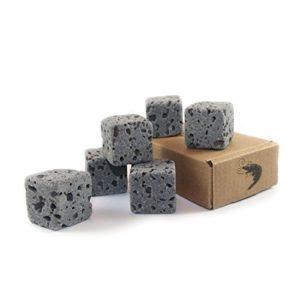 6 Eco Bricks – Décoration purificatoire en roche volcanique pour aquarium | Rochers de décoration aquarium