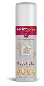 Advanthome Spray INSECTICIDE pour l'habitat – puces, larves et oeufs – 250 ml