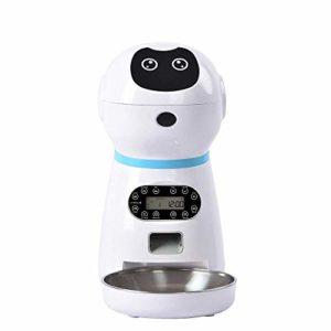 Aliment automatique pour animaux domestiques – Aliment automatique pour chien, chat – Aliment pour chien – Aliment par Bowl – Aliment pour la langue – 323 x 186 x 355 mm US dmqpp 323*186*355mm UK.