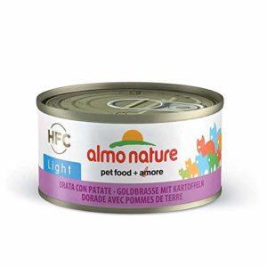 Almo Nature Cat HFC Light Orata/Pommes de Terre GR 70