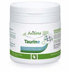 AniForte 100% Taurin 100 g pour Chats – Acide aminé, régulation du Nerf & système immunitaire, Prise en Charge du cœur, Alimentation Parfaite et complément pour Votre Animal