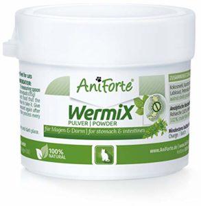 AniForte Formule de Ver 25 g pour Chats, Naturel et Efficace, Aux actifs naturels de plantes