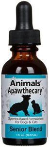 Animal Essential APAWTHECARY SENIOR BLEND (Immune System) Dog Cat 1 ounce
