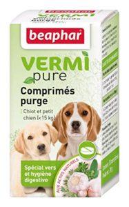 Beaphar – VERMIpure, comprimés hygiène digestive – chiot et petit chien (< 15kg)