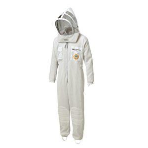 Bee Proof Suits Zonda Combinaison d'apiculteur ventilée en Tissu maillé Triple Couche avec Capuche Rabattable