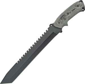 BIOZOO Tops tp111a Couteau à Lama fissa, Unisexe–Adultes, Noir, Une Taille
