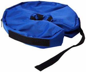 Buster Inflatable Elizabethan Collar – Blue (Size: Medium)