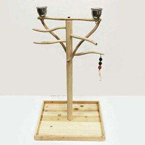 Cadre Parrot arbre bionique oiseaux jeu stand étagère porte-bagages,A