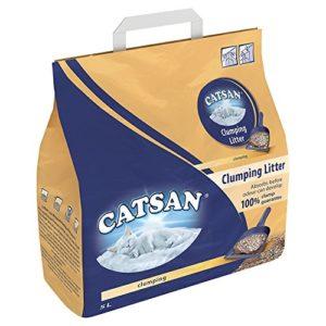 Catsan Litière pour Chat Ultra agglomérante Ultra absorbante – en Granulés D'Argile