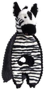Charmant Animal domestique Cuddle Tiraillements Pet Squeak jouet, Zebra