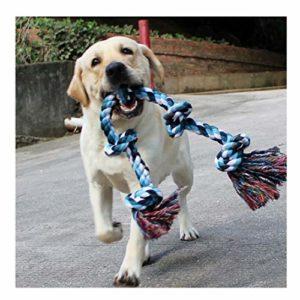 Chien Corde Jouets pour chiens de grande taille solides à mâcher