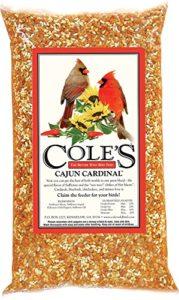 Coles oiseaux sauvages Products Co COLESGCCB10 Cajun Cardinal 10 livres.