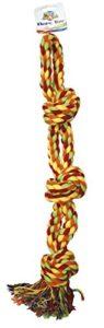 CROCI Corde Double 3 Noeuds pour Chien 55.8 cm/496 g