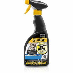 Csi urine Bac À Litière Spray 500ml pour Chat