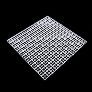 Dabixx Plaque de séparation pour aquarium Filtre Blanc 30 x 30 cm