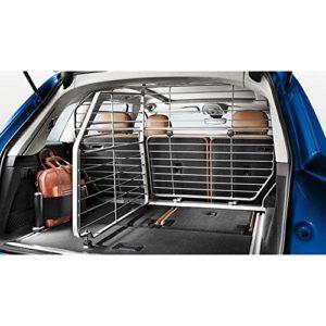 D'origine Audi Q5(type FY, à partir de 2017) Grille de séparation pour chien Paysage Grille de protection coffre Bagagerie Grille Gris foncé 80a017221