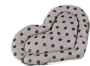 Dylandy Hamster Hamster couchage lit chaud Lit Hamster sommeil Tapis de cœur Hamster Couverture Pad pour cochon d'Inde Lapin Chat Petit Animal domestique d'hiver (Beige)