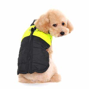Ericoy Dog Warm Winter Vest Harnais Veste de Manteau impermšŠable pour Les Petites Moyennes et Grandes Chiens